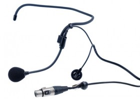 CC-27 Single-ear, wrap around ear worn headset