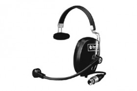 CC-40 single enclosed intercom headset