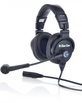 CC-400 double-ear headset