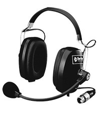 CC-60 Double enclosed intercom headset
