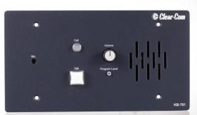 KB-701 1-Channel Flush-Mount Push-to-Talk Speaker/Microphone Station
