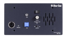 KB-702 2-Channel Flush Mount Headset/Speaker Station