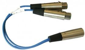 YC-36 Dual channel beltpack adapter